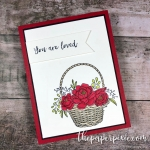 Blossoming Basket with Stampin' Blends
