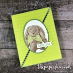 Sweet Little Something Diagonal Fold Card