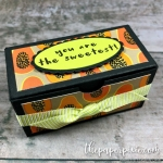 Gift Bag Punch Board Treat Box with Video Tutorial