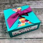 Scalloped Tag Topper Box with Video Tutorial!