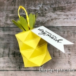 Pineapple Treat Box with Video Tutorial