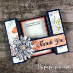 Daisy Delight Bridge Fold Card