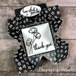 Mini Napkin Fold Thank You Note