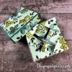 NAPKIN FOLD GIFT BOX WITH VIDEO TUTORIAL