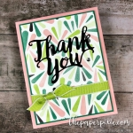 Tropical Escape Thank You Card