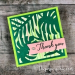 Tropical Chic Mini Card