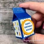 Mini Milk Carton Birthday Favors