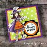 Spooky Sweets Mini Halloween Card