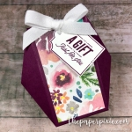 Hexagon Gift Bag with Video Tutorial
