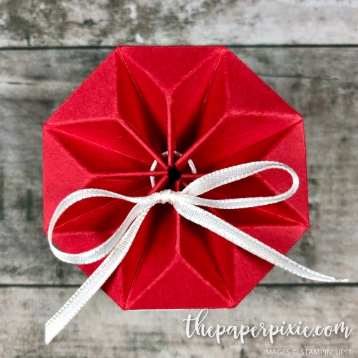 Octagon Star Gift Box With Video Tutorial - The Paper Pixie