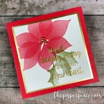 Stylish Christmas Mini Card
