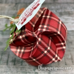 Christmas Bauble Ornament with Video Tutorial
