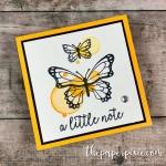 Butterfly Gala Mini Card