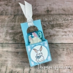 Mini Easter Treat Tote with Video Tutorial
