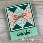 You Are Wonderful, Paper Quilting!