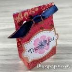 Mini Punch Board Gift Bag