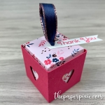 Treat Cube with Inset Lid