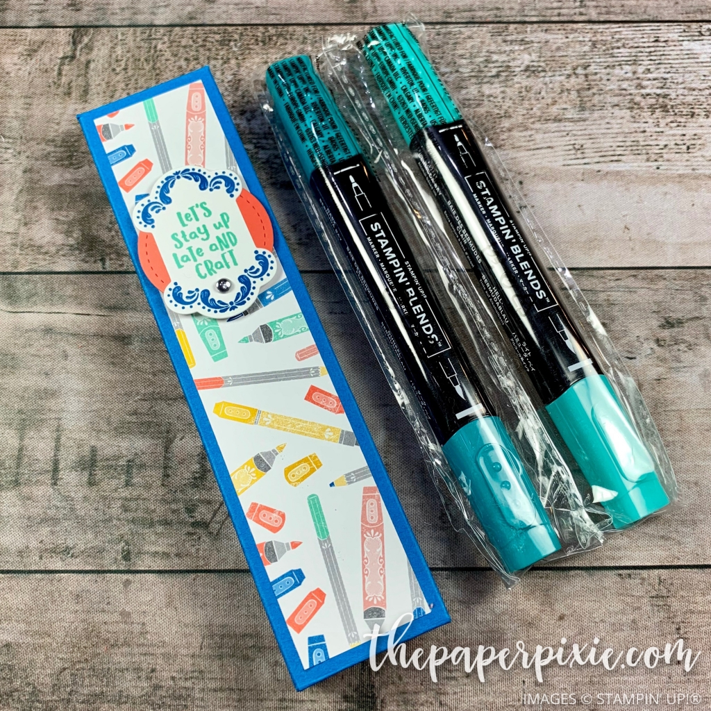Stampin Blends Gift Box