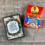 Halloween Treat Box for Raisins Tutorial