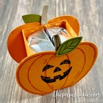 Harvest Hellos Pumpkin Treat Holder
